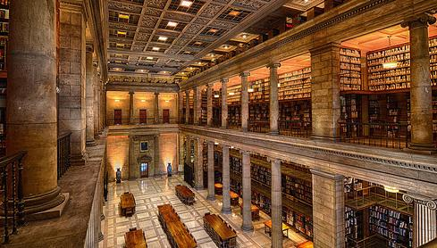 The James J. Hill Library as captured by Michael Boeckmann (Star Tribune)