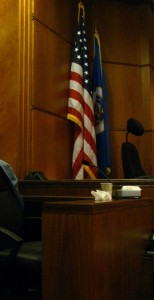 courtroom witness stand