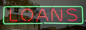 loan business sign