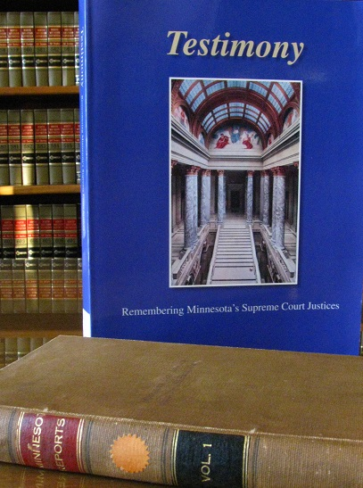 Testimony: Remembering Minnesota's Supreme Court Justices