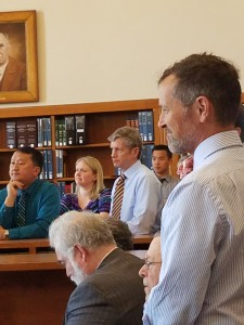 Ramsey County Judges Adam Yang, Richard Kyle, Jr., and Thomas Gilligan