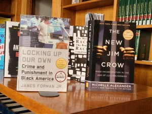 Locking Up Our Own and the New Jim Crow are available at the Ramsey County Law Library.